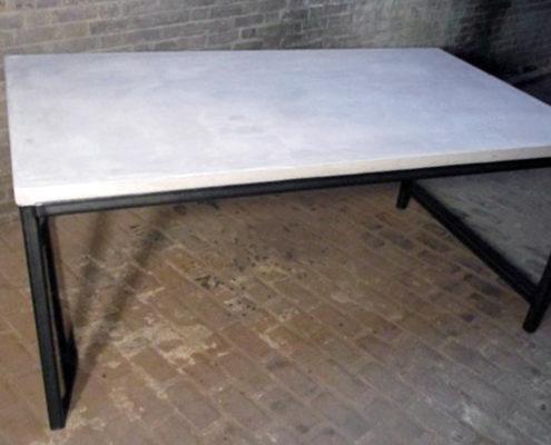 Tafel | beton ciré blad